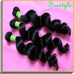 "Free shipping,loose wave peruvian virgin remy hair weave,#1b nature black,mixed size 2,3/4 pcs/lot,14""16""18""20""22""24""26""28""inch(China (Mainland))"