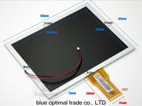 20001086-00 lcd screen 8 display screen hb080-dm438-27f Q08009-602