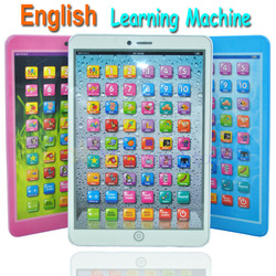 2013 New Arrival English Language Children Kids Learning Machine Computer Educational Toys Plenty of stock Next day shipping(China (Mainland))