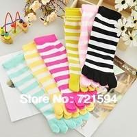 Free Shipping Lovely Wool Five fingers socks Women's socks