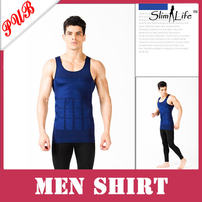 Free Shipping Men's Slim N Lift Body Shaping As Seen On TV Undergarment Elimination of Male Beer Belly(China (Mainland))