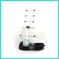 824-960MHz 5 units 9dBi yagi antenna with 10m cable for GSM CDMA Booster Repeater