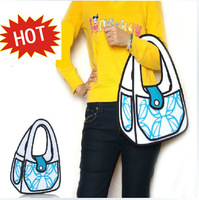 Free Shipping 3D Three-Dimensional women's handbag bag