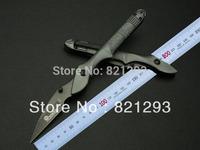 boker  swan knife 343 mini folding knife .color box packaging alumium  handle