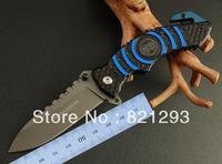 boker 169 lifesaving knife .alumium  handle