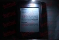Lighted Leather Case For Amazon Kindle touch , LED  light leather cover
