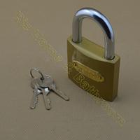 FT075 75mm copper material household door lock window padlock
