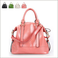 Free shipping hot sales 2013 new female bag shoulder bag leather leather ladies handbags bags.1 pce wholesale
