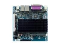 OO Ahome ITX BW52X82B Intel Atom D525 1.8G dual core,Fanless,VGA+18Bit LVDS,12V DC,8COM,2Giga LAN,Mini ITX Motherboard,ITX case