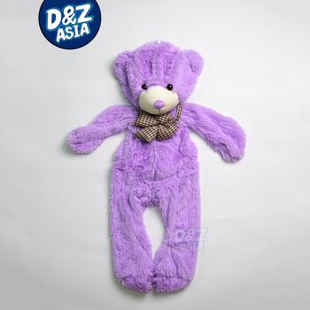 New Plush shell Bear skins empty coat bear plush doll toy skin unstuffed plush animal skins TV&Movie character