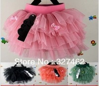 Free Shipping Hot selling Brand New butterfly design 4 colors  fashion Baby  Girl  Skirt  2 TO 6 Years Old