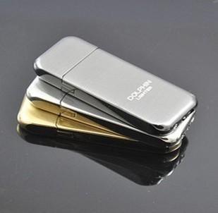Retail - 1pcs Ultrathin lighter, electroplate metal flint flame ...