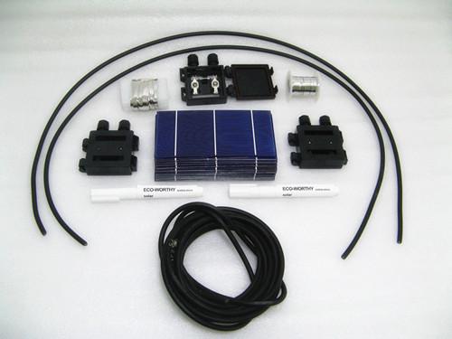 3 x 6 солнечные батареи режущие класса с ручку потока leadbox 2 Вт/шт. для DIY 200 Вт панели солнечных батарей