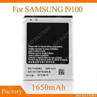 i9100 Battery By DHL EB-F1A2GBU Galaxy S2 9100 Batteries For Samsung GT-i9100 1650mAh 100Pcs/Lot
