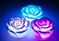 36pcs Rose LED light changing color LED candle top deal for christmas day .