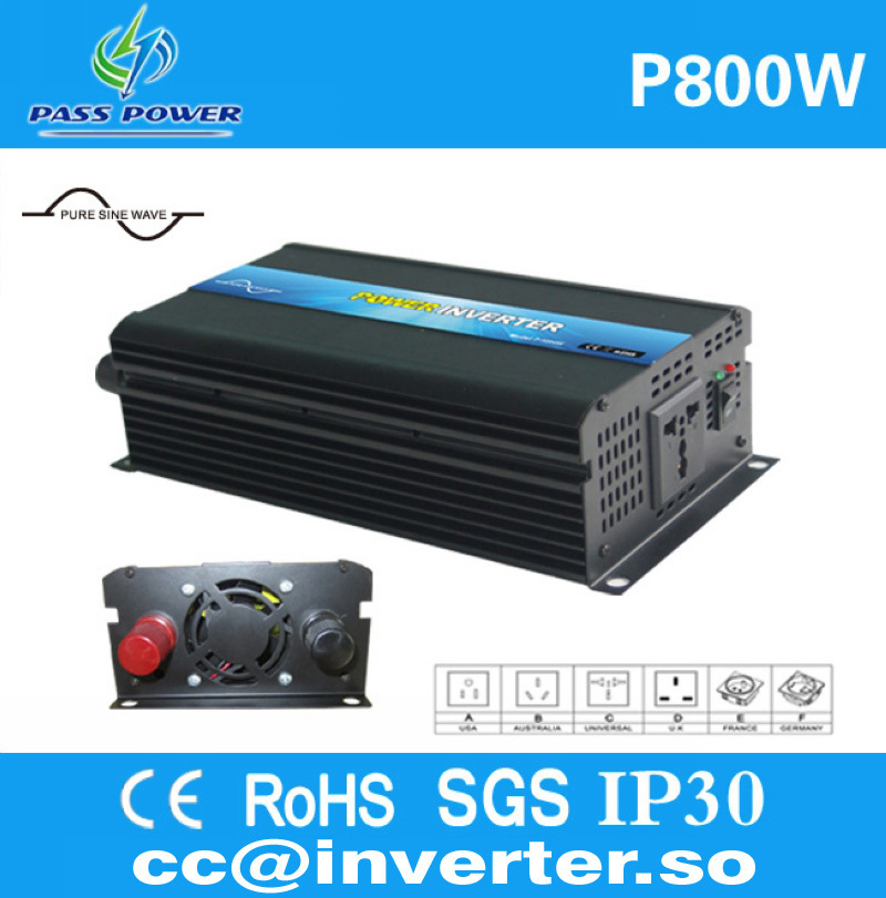 CE &ROHS &SGS &GMC Approved, 800W Pure Sine Wave Solar Micro Inverter(China (Mainland))