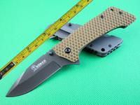 New 8'' BOKER G10 Handle 440 Steel Folding pocket Knife FD11