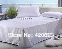 Free Shipping  100 % Cotton 4PCS Bedding Set Bed Sheet Set Hotel Linen Bed Linen