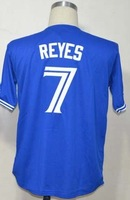 Free Shipping #7 Jose Reyes Men's Baseball Jersey,Embroidery and Sewing Logos,size M--3XL,Accpet Mix Order