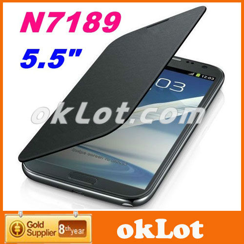 Freeshipping Quad Core Star N7189 Note II MTK6589 5.5 inch 1GB RAM 4GB ROM Android 4.2 3G GPS smart phone(China (Mainland))