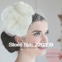 Free shipping!New Bridal flower Veil, Party Headdress,  ,Wedding Accessory