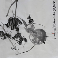 Free shipping China rice paper painting Original Traditional Chinese art handpainted Landscape painting Gift art collectible 14