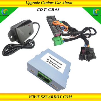 NEW Canbus Upgrade car alarm system,compatiable with OEM remote key,window closer,shock alarm,CE passed!