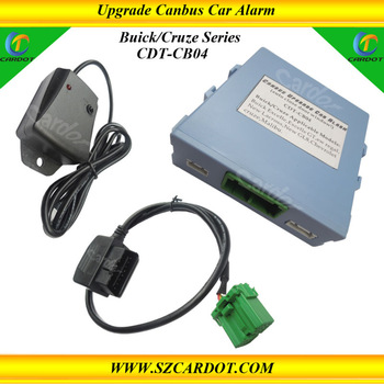 Selling best Chevrolet cruz/buick Canbus Upgrade car alarm system,closing window function,work with car original remotes.