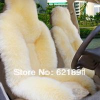 Car winter wool cushion car seat cushion winter plush cushion
