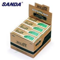 240pcs/lot  High-Efficient Filtration Disposable Resin Cigarette Filter Holder #SD-165