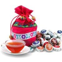 On Sale!!! 50 Kinds Flavor Pu er, Pu'erh tea, Mini Yunnan Puer tea ,Chinese tea, With Gift Bag, Free Shipping