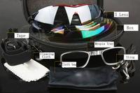 Free Shipping New Upgrade Cycling Bicycle Bike Sports Eyewear Fashion Sunglasses Men/Women Riding Fishing Glasses