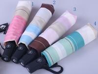 Y24 brand Lulu high quality rainbow automatic umbrella rain for women princess folding umbrellas women's beautiful