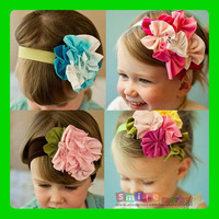 FREE SHIPPING (1piece)  Baby non-woven small flower shape headband