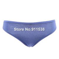 Free shipping 1pcs Comfortable ultra-thin elastic fiber soft cotton panty briefs women's leugth #W700k2