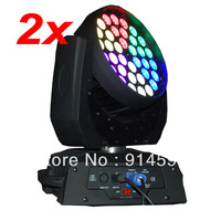 Free Shipping 2 PCS of Cheap 36x10W LED Stage Wash Movinghead Lights 4 in 1 for Sale