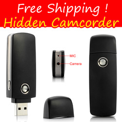 Free Shipping USB Flash Drive Shape Camcorder A8 Hidden Camera Mini DVR Factory Selling Pin Hole DV 720*480 USB Flash Disk Cheap(China (Mainland))