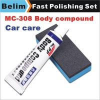 Free Shipping MC308 Car Body Compound Paste Set for Scratching Paint Care,Auto Polishing&Grinding Compound Paste for Car Care