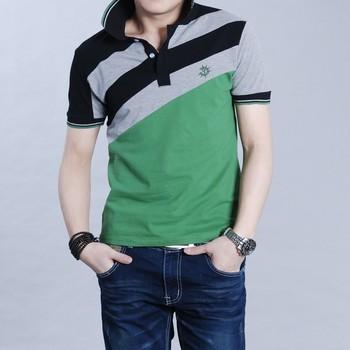 2014 Summer Men's Big Size shirt XXXXL 5XL Tee casual shirts Cotton Male mens short sleeve shirts for man PL001-1