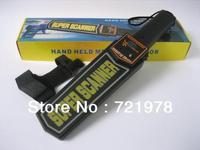 Wholesale body scanner sound / light / vibration alarm HandHeld Metal Detector Extra Sensitive Setting MD-3003B1