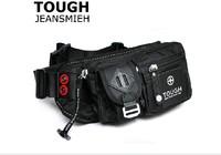 Tough man bag quality parachute material waterproof nylon male fashionable casual waist pack