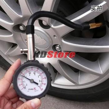 Free Shipping High Accuracy Auto Car Trucks Bike Tyre Tire Air Pressure Gauge 0-100 PSI Dial Meter (10236) @CF