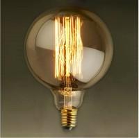 Vintage edision bulb special screw-mount light source vintage diameter 95mm  bulb-E27 40W G95