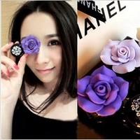 Free ship!20set!Candy color cute handmade invisible eye pupil contact lenses box / DIY companion box