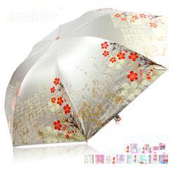 Free shipping Sun-shading umbrellas anti-uv super sun folding umbrella