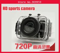 Hd720p hd sports camera miniature mini camera driving recorder waterproof with touch screen