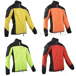 2013 New Arrival! Tour de France Cycling Sports Men Cycle Long Sleeve Jersey Wind Coat Rain Coat Hooded Jacket -Green (7 Size)(China (Mainland))