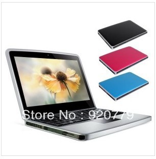 2013 Hot!!!!!!10.1 Inch Mini Notebook Netbook Laptop 1.8GHz CPU 1GB RAM 160GB HD Wi-Fi Camera Free Shipping