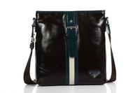 Free shipping envelope bag leather messenger bag men 2013 bags Leather bag for men D8704-3