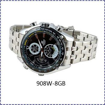 Free Shipping 908W Wristwatch 1080P HD IR Camera,Wristwatch Video,Wristwatch dvr,Night Vision Watch DVR (8GB)
